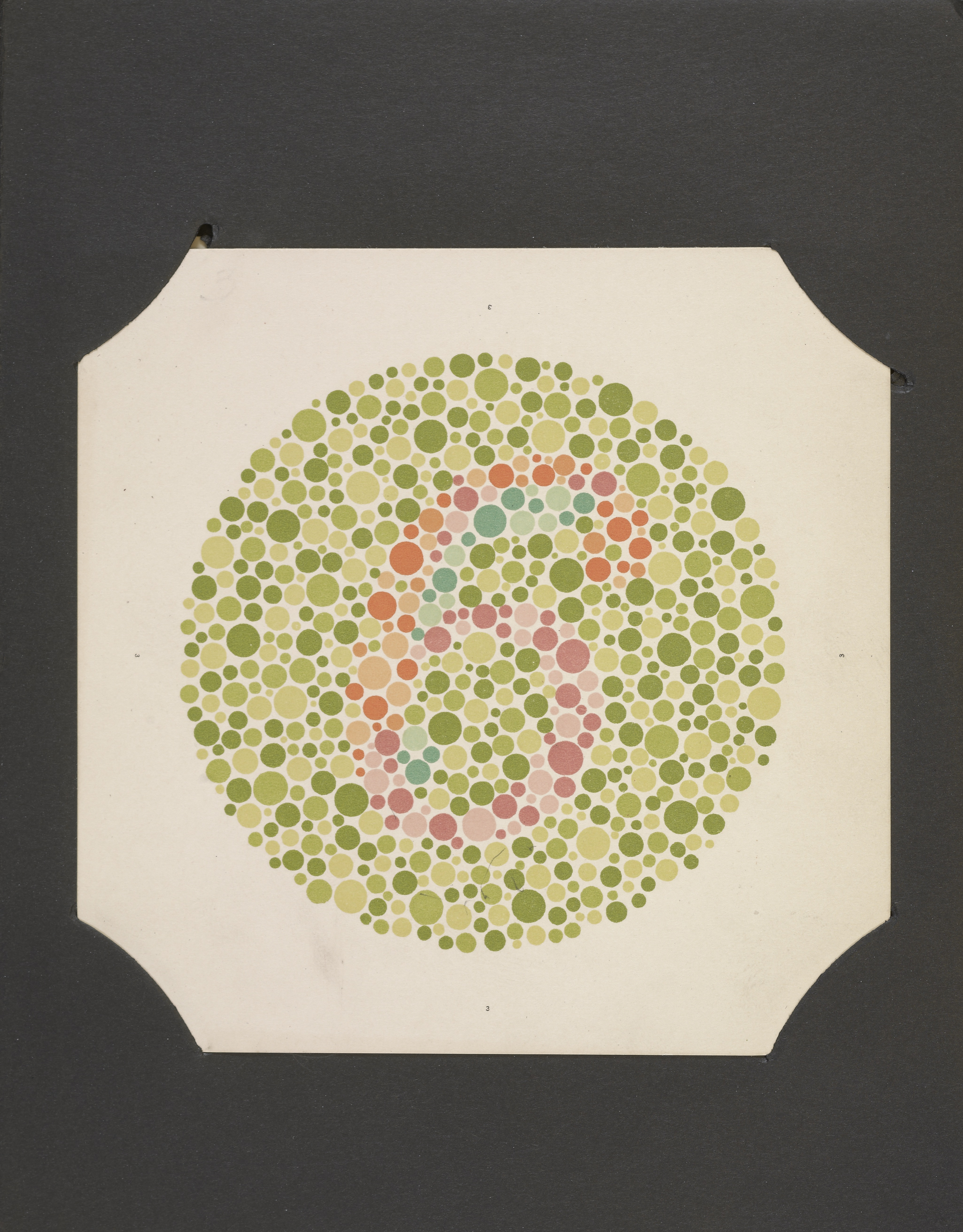 Color vision art - The Series Of Plates Designated As Tests For Colour Blindness Tokyo Kanchara Co 1936