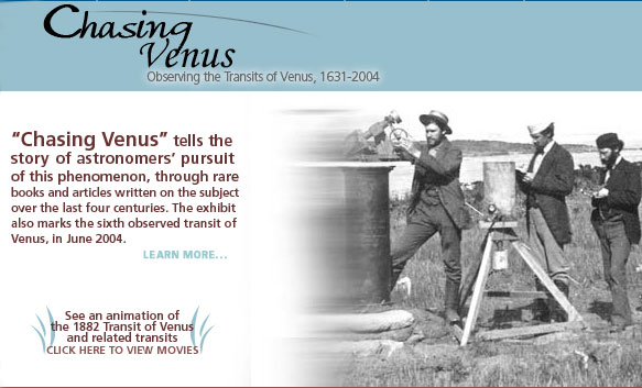 Chasing Venus: Observing the Transits of Venus 1631-2004