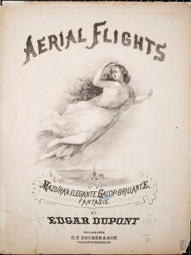 "Cover of ""Aerial flight"""