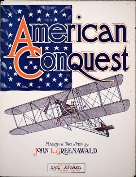 """Cover of """"American conquest"""""""