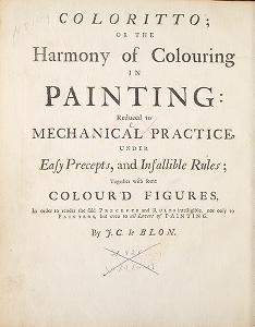 """Cover of """"Coloritto, or, The harmony of colouring in painting"""""""