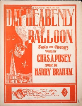 "Cover of ""Dat heabenly balloon"""