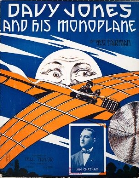 """Cover of """"Davy Jones and his monoplane"""""""