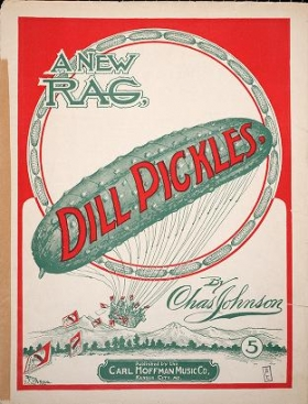 "Cover of ""Dill pickles"""