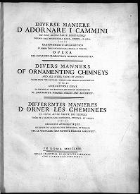 "Cover of ""Diversi maniere d'adornare i cammini"""