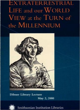 "Cover of ""Extraterrestrial life and our world view at the turn of the millennium"""