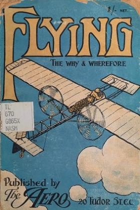 "Cover of ""Flying, the why and wherefore"""