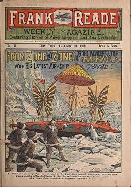 "Cover of ""Frank Reade weekly magazine"""