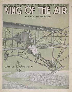"""Cover of """"King of the air"""""""