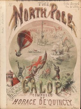 "Cover of ""The North Pole galop /"""