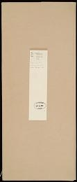"""Cover of """"Albert Einstein galley proofs with typescript and handwritten corrections for his article on relativity, prepared for the American peoples encyclopedi"""""""
