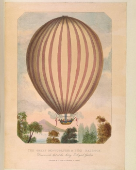 "Cover of ""Scrapbook of early aeronautica /"""