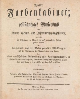 "Cover of ""Wiener Farbenkabinet"""