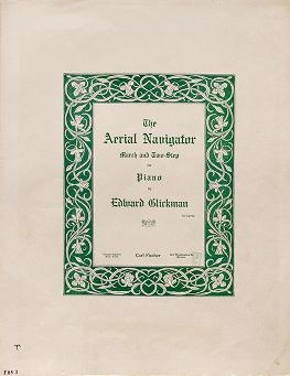 "Cover of ""The aerial navigator"""
