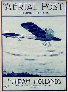 "Cover of ""The aerial post"""