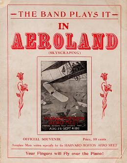 """Cover of """"In aeroland"""""""