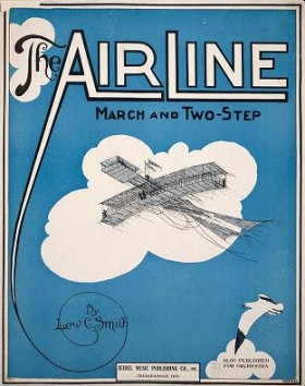 """Cover of """"The air line"""""""