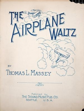 """Cover of """"The airplane waltz"""""""
