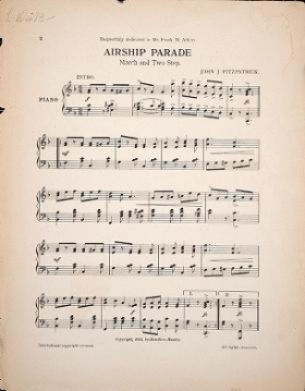 "Cover of ""The airship parade"""