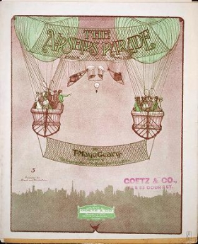 "Cover of ""The airships parade"""