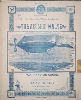 "Cover of ""The air ship waltz"""