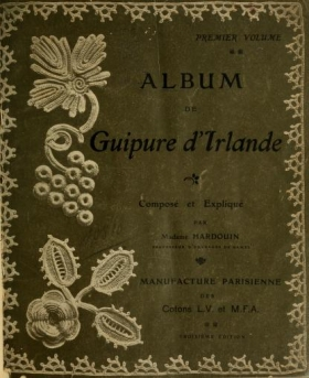 "Cover of ""Album de guipure d'Irlande"""