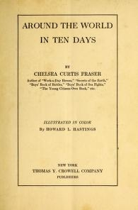 "Cover of ""Around the world in ten days"""