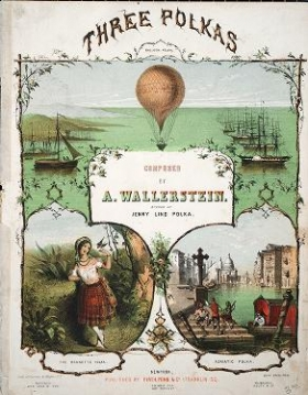 "Cover of ""The balloon polka ="""