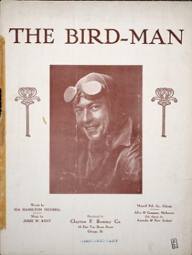 """Cover of """"The bird-man"""""""