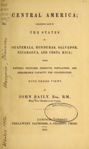 "Cover of ""Central America"""