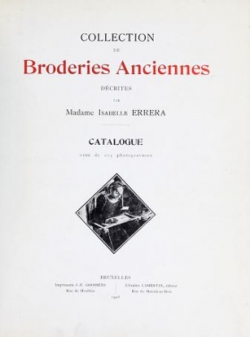 "Cover of ""Collection de broderies anciennes"""