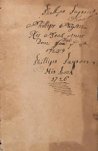 """Cover of """"A commonplace book"""""""
