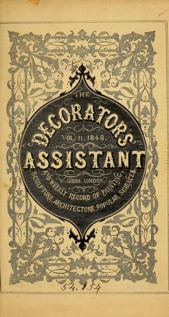 "Cover of ""The Decorator's assistant"""