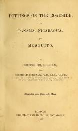 "Cover of ""Dottings on the roadside, in Panama, Nicaragua, and Mosquito"""