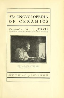 """Cover of """"The encyclopedia of ceramics"""""""