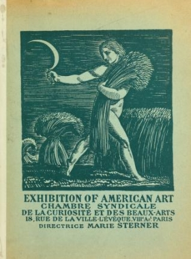 "Cover of ""Exhibition of American art"""