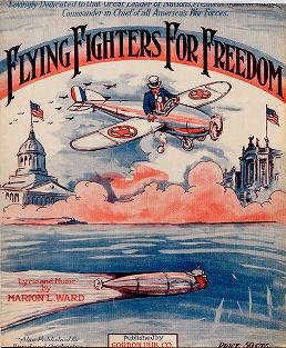 "Cover of ""Flying fighters for freedom"""