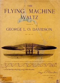 """Cover of """"The flying machine waltz"""""""