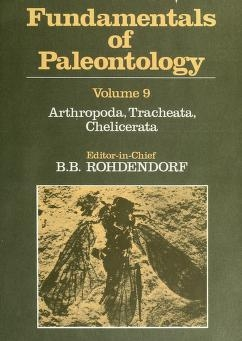 """Cover of """"Fundamentals of paleontology"""""""