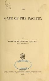 """Cover of """"The gate of the Pacific"""""""