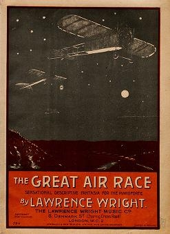 """Cover of """"The great air race"""""""