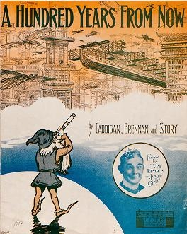 "Cover of ""A hundred years from now"""