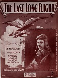 """Cover of """"The last long flight"""""""