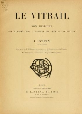 "Cover of ""Le vitrail"""