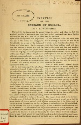 "Cover of ""Notes on the Indians of Guiana"""