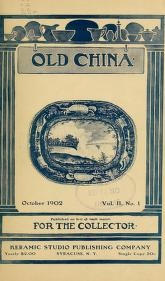 """Cover of """"Old china"""""""