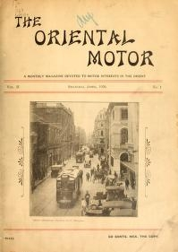 "Cover of ""The Oriental motor"""