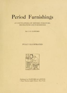 """Cover of """"Period furnishings"""""""