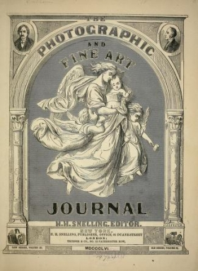 "Cover of ""The Photographic and fine art journal"""