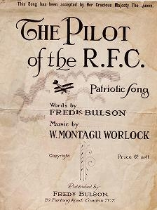 """Cover of """"The pilot of the R.F.C"""""""